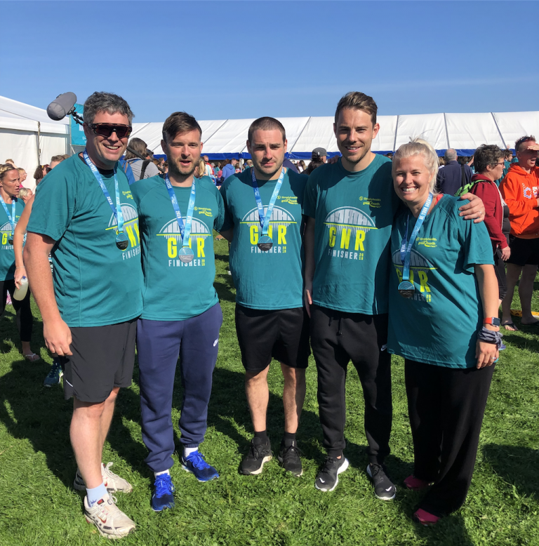 NorthEdge raises £7,500 for bliss at Great North Run